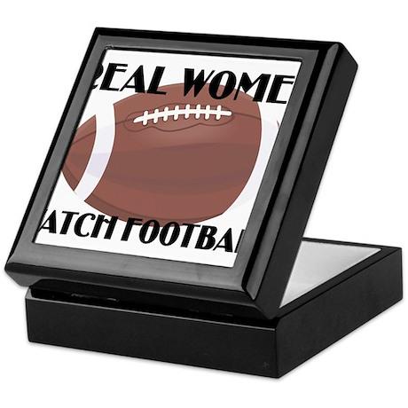 REAL WOMEN WATCH FOOTBALL (1) Keepsake Box