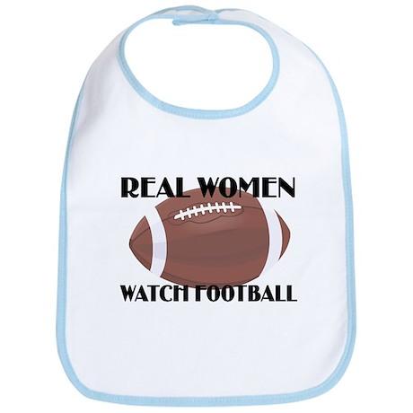 REAL WOMEN WATCH FOOTBALL (1) Bib