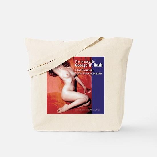 Anti-Bush Pin-Up Tote Bag