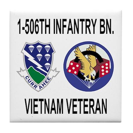 1-506th Infantry Vietnam Tile Coaster 1