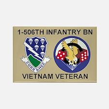 1-506th Infantry Vietnam Magnet 1