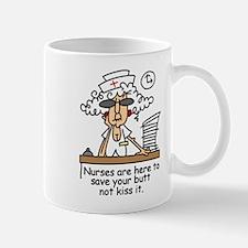 Save Your Butt! Lefty Mug