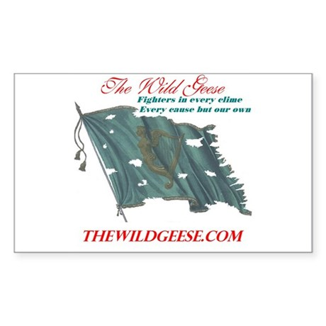 The Wild Geese - Rectangle Sticker
