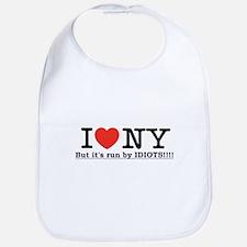 I Love NY, but it's run by IDIOTS!!! Hate! Bib