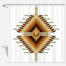 Native American Beadwork 18 Shower Curtain