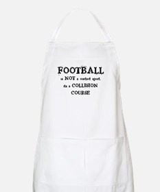 FOOTBALL is a COLLISION COURS BBQ Apron