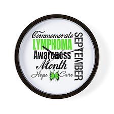 Lymphoma Awareness Month Wall Clock