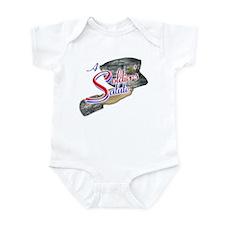 A soldier's Salute Infant Bodysuit