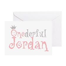 ONEderful Jordan Greeting Card