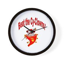 Go Iowa Beat State! Wall Clock