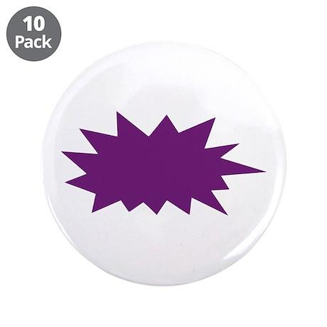 "Speech bubble 3.5"" Button (10 pack)"