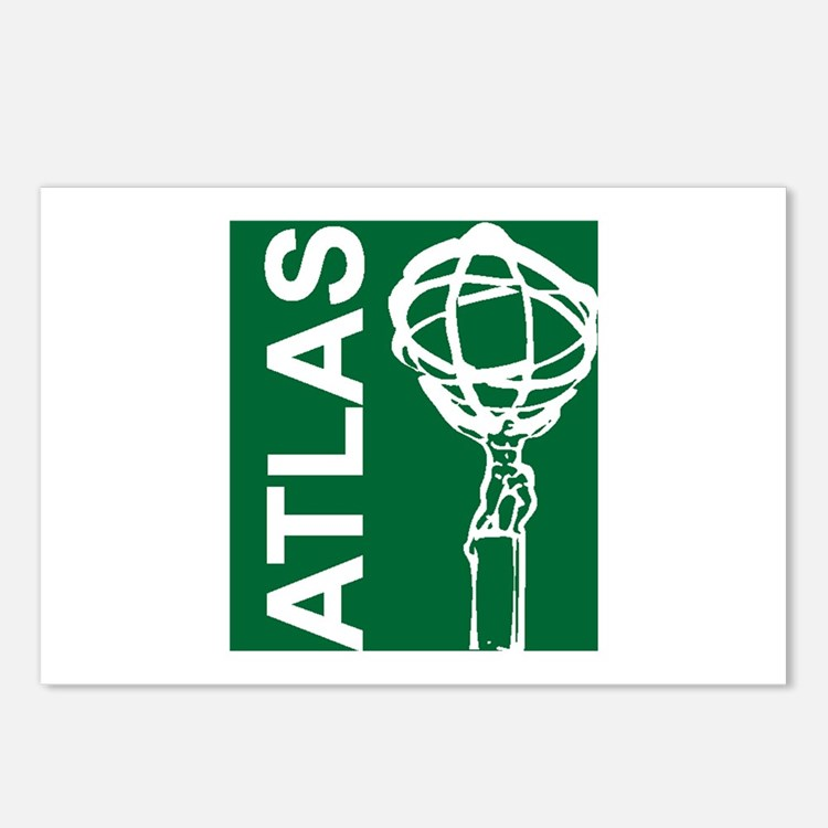Cute Atlas Postcards (Package of 8)