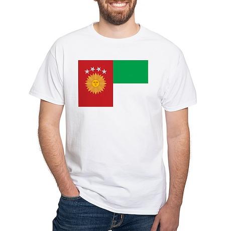 South Peru Flag (1836-1839) White T-Shirt