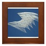 White Sutton Framed Tile
