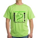 Lymphoma Awareness Month v4 Green T-Shirt