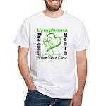 Lymphoma Awareness Month v4 White T-Shirt