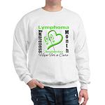 Lymphoma Awareness Month v4 Sweatshirt