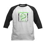 Lymphoma Awareness Month v4 Kids Baseball Jersey