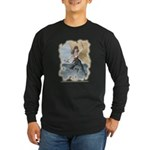 Pirate Girl 1 Long Sleeve Dark T-Shirt