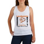 Leukemia Awareness Month v4 Women's Tank Top