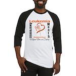 Leukemia Awareness Month v4 Baseball Jersey