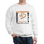 Leukemia Awareness Month v4 Sweatshirt