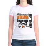 Leukemia Awareness Month Jr. Ringer T-Shirt