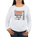 Leukemia Awareness Month Women's Long Sleeve T-Shi