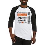 Leukemia Awareness Month Baseball Jersey