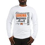 Leukemia Awareness Month Long Sleeve T-Shirt