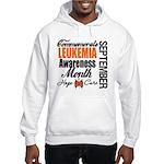 Leukemia Awareness Month Hooded Sweatshirt