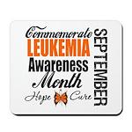 Leukemia Awareness Month Mousepad