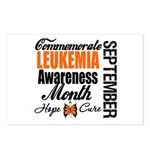 Leukemia Awareness Month Postcards (Package of 8)