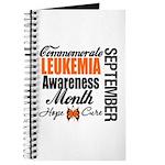 Leukemia Awareness Month Journal