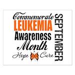 Leukemia Awareness Month Small Poster