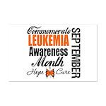 Leukemia Awareness Month Mini Poster Print