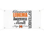 Leukemia Awareness Month Banner