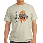 Leukemia Awareness Month v5 Light T-Shirt