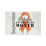 Leukemia Awareness Month v5 Rectangle Magnet