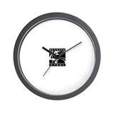 Atlas shrugged Wall Clocks