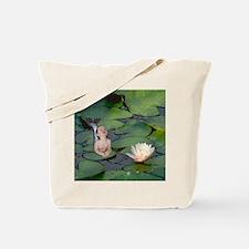 Garden Baby Mermaid Tote Bag