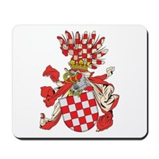 Croatia Coat of Arms (1800's) Mousepad