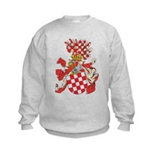 Croatia Coat of Arms (1800's) Sweatshirt