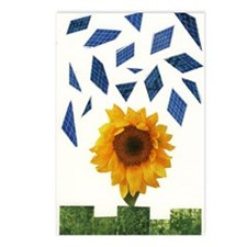 Cute Solar panel Postcards (Package of 8)