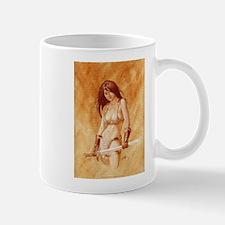 Red Sonja - She Devil TEXT Mugs
