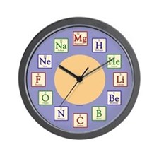 Kids Chemistry Geek Wall Clock
