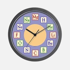 Kids Chemistry Geek Wall Clock