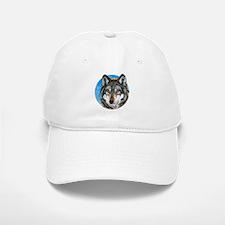 Painted Wolf Baseball Baseball Cap