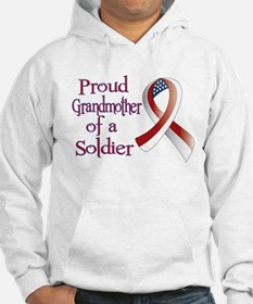 Grandmother of a Soldier Hoodie