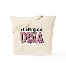 Maltapoo Diva Tote Bag